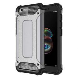 Hibrid Armor telefon tok telefontok Ütésálló Robusztus telefon tok Xiaomi redmi 5A ezüst