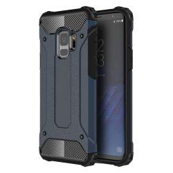 Hibrid Armor telefon tok telefontok Ütésálló Robusztus Cover Samsung Galaxy S9 G960 kék