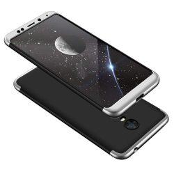 GKK 360 Protection telefon tok telefontok Első és hátsó az egész testet fedő Xiaomi redmi 5 Plus / redmi 5 NOTE (egyetlen kamera) fekete-ezüst