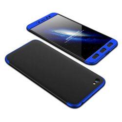 GKK 360 Protection telefon tok telefontok (hátlap) Első és hátsó az egész testet fedő Xiaomi redmi NOTE 5A fekete-kék