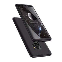 GKK 360 Protection telefon tok telefontok Első és hátsó az egész testet fedő Samsung Galaxy S9 Plus G965 fekete