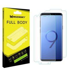 Wozinsky Full Body önjavító 360 ° teljes képernyős (full screen) képernyővédő fólia fólia Samsung Galaxy S9 Plus G965 kijelzőfólia