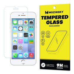 Wozinsky edzett üveg 9H Képernyővédő fólia iPhone 8/7 / 6S / 6 (csomagolás - boríték) kijelzőfólia üvegfólia tempered glass