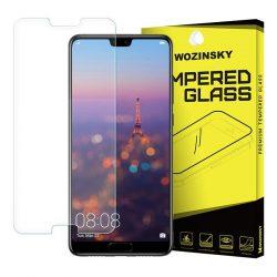 Wozinsky edzett üveg 9H képernyővédő fólia Huawei P20 kijelzőfólia üvegfólia tempered glass