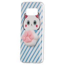 Squishy animal tok telefon tok hátlap 4D szilikon játék Samsung Galaxy A8 2018 A530 pud
