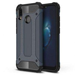 Hibrid Armor telefon tok telefontok (hátlap) tok Ütésálló Robusztus Cover Huawei P20 Lite blue