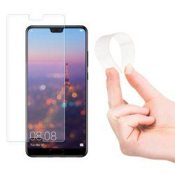 Wozinsky Nano Flexi Edzett Üvegfólia hibrid Screen Protector edzett üveg Huawei P20 Pro kijelzőfólia üvegfólia tempered glass