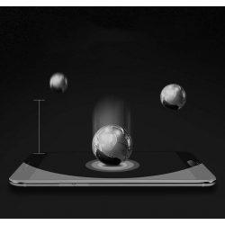 Wozinsky Full Cover Flexi Nano üveg hibrid kijelzőfólia képernyőfólia kerettel Huawei P20 Lite fekete kijelzőfólia üvegfólia tempered glass