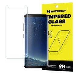 Wozinsky edzett üveg Screen Protector SCO (Csak a képernyő közepére) Samsung Galaxy S8 G950 (csomagolás - boríték) kijelzőfólia üvegfólia tempered glass