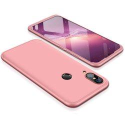 GKK 360 Protection telefon tok telefontok (hátlap) Első és hátsó az egész testet fedő Huawei P20 Lite rózsaszín