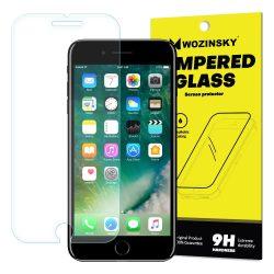 Wozinsky edzett üveg 9H Képernyővédő fólia iPhone 8 Plus / iPhone 7 Plus (csomagolás - boríték) kijelzőfólia üvegfólia tempered glass
