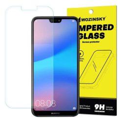 Wozinsky edzett üveg 9H képernyővédő fólia Huawei P20 Lite (csomagolás - boríték) kijelzőfólia üvegfólia tempered glass