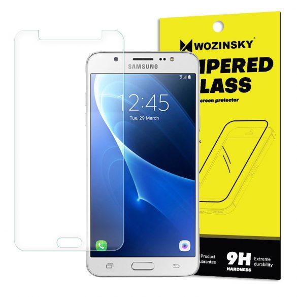 Wozinsky edzett üveg 9H képernyővédő fólia Samsung Galaxy J5 2016 J510 (csomagolás - boríték) kijelzőfólia üvegfólia tempered glass