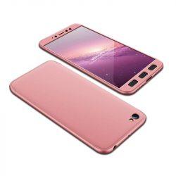 GKK 360 Protection telefon tok telefontok (hátlap) Első és hátsó az egész testet fedő Xiaomi redmi NOTE 5A rózsaszín