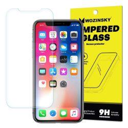 Wozinsky edzett üveg 9H képernyővédő fólia Sony Xperia XZ2 Premium (csomagolás - boríték) kijelzőfólia üvegfólia tempered glass