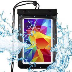 """Univerzális vízálló tok telefon tok hátlap hátlap tok telefon tok Dry Bag telefon vagy táblagép 8"""" fekete"""