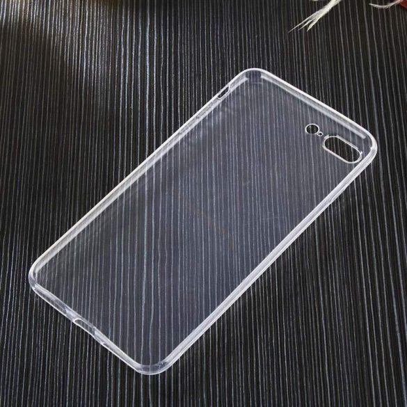 Átlátszó 0.5mm telefon tok telefontok Gel TPU telefon tok Nokia X6 2018 / 6.1 Plus átlátszó