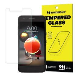 Wozinsky edzett üveg 9H Képernyővédő fólia LG K8 2018 / K9 (csomagolás - boríték) kijelzőfólia üvegfólia tempered glass