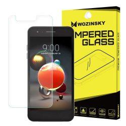 Wozinsky edzett üveg 9H képernyővédő fólia LG K8 (2018) / K10 (2018) / K11 kijelzőfólia üvegfólia tempered glass