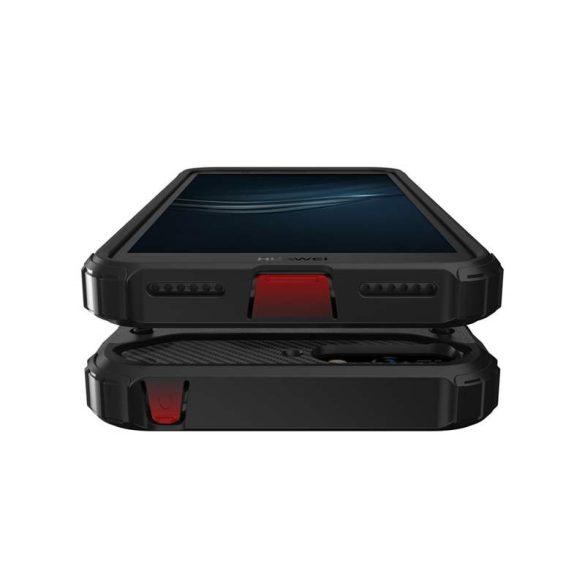 Hibrid Armor telefon tok telefontok Ütésálló Robusztus Cover Huawei Y6 2018 kék