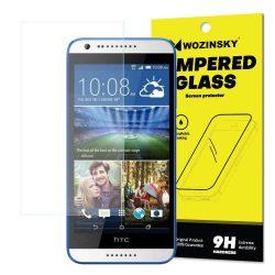 Wozinsky edzett üveg 9H Képernyővédő fólia HTC Desire 620 (csomagolás - boríték) kijelzőfólia üvegfólia tempered glass