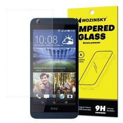 Wozinsky edzett üveg 9H Képernyővédő fólia HTC Desire 626 (csomagolás - boríték) kijelzőfólia üvegfólia tempered glass