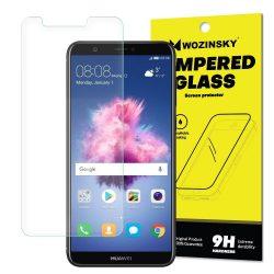 Wozinsky edzett üveg 9H Képernyővédő fólia Huawei P Smart (csomagolás - boríték) kijelzőfólia üvegfólia tempered glass