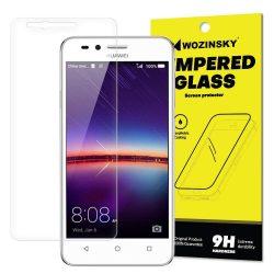 Wozinsky edzett üveg 9H Képernyővédő fólia Huawei Y3 II (csomagolás - boríték) kijelzőfólia üvegfólia tempered glass