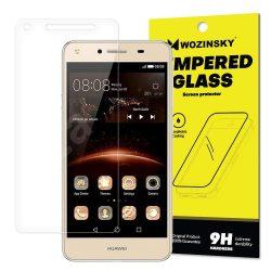 Wozinsky edzett üveg 9H Képernyővédő fólia Huawei Y5 II (csomagolás - boríték) kijelzőfólia üvegfólia tempered glass