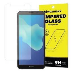 Wozinsky edzett üveg 9H Képernyővédő fólia Huawei Y5 2018 (csomagolás - boríték) kijelzőfólia üvegfólia tempered glass