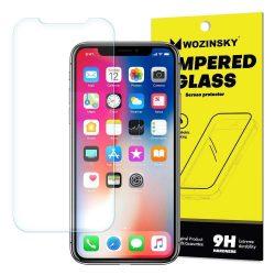 Wozinsky edzett üveg 9H képernyővédő fólia Huawei Y7 Prime 2018/2018 Y7 (csomagolás - boríték) kijelzőfólia üvegfólia tempered glass