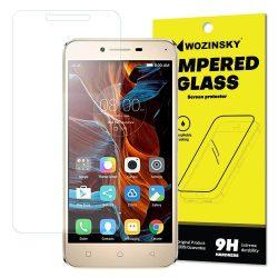 Wozinsky edzett üveg 9H képernyővédő fólia Lenovo Vibe K5 / K5 Plus (csomagolás - boríték) kijelzőfólia üvegfólia tempered glass