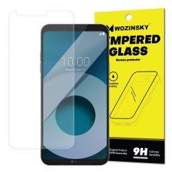 Wozinsky edzett üveg 9H képernyővédő fólia LG Q6 (csomagolás - boríték) kijelzőfólia üvegfólia tempered glass