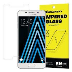 Wozinsky edzett üveg 9H képernyővédő fólia Samsung Galaxy A3 2016 A310 (csomagolás - boríték) kijelzőfólia üvegfólia tempered glass