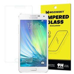Wozinsky edzett üveg 9H képernyővédő fólia Samsung Galaxy A5 A500 (csomagolás - boríték) kijelzőfólia üvegfólia tempered glass