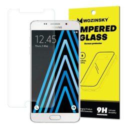 Wozinsky edzett üveg 9H képernyővédő fólia Samsung Galaxy A5 2016 A510 (csomagolás - boríték) kijelzőfólia üvegfólia tempered glass