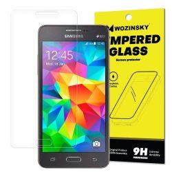 Wozinsky edzett üveg 9H képernyővédő fólia Samsung Galaxy Grand Prime G530 (csomagolás - boríték) kijelzőfólia üvegfólia tempered glass