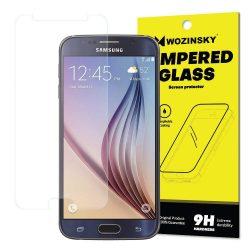 Wozinsky edzett üveg 9H képernyővédő fólia Samsung Galaxy S6 G920 (csomagolás - boríték) kijelzőfólia üvegfólia tempered glass