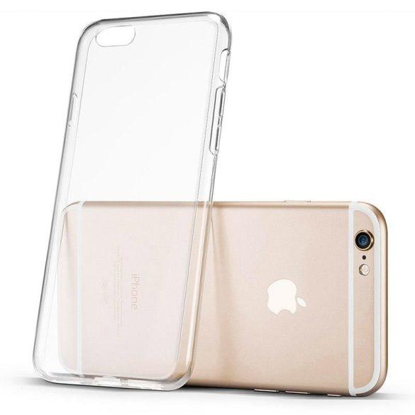 Átlátszó 0.5mm Case Gel TPU Fedél LG Q6 átlátszó telefon tok telefontok
