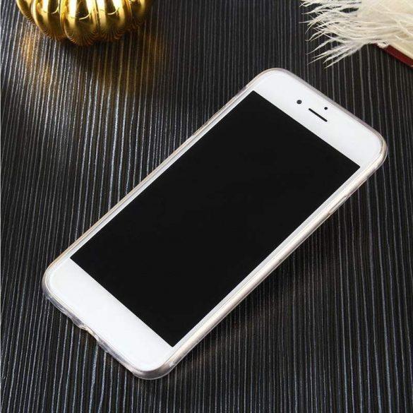 Átlátszó 0.5mm Case Gel TPU Fedél Huawei Y6 2017 / S5 2017 átlátszó telefon tok telefontok