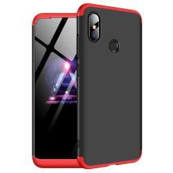 GKK 360 Protection telefon tok telefontok (hátlap) Első és hátsó az egész testet fedő Xiaomi Mi 8 SE fekete-piros