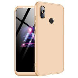 GKK 360 Protection telefon tok hátlap tok Első és hátsó tok telefon tok hátlap az egész testet fedő Xiaomi Mi 8 arany