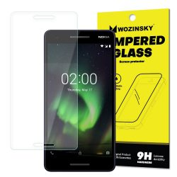 Wozinsky edzett üveg 9H Képernyővédő fólia Nokia 2.1 (csomagolás - boríték) kijelzőfólia üvegfólia tempered glass
