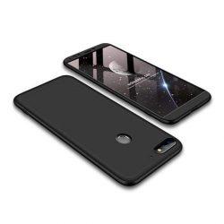 GKK 360 Protection telefon tok telefontok Első és hátsó az egész testet fedő Huawei Y7 Prime 2018/2018 Y7 fekete