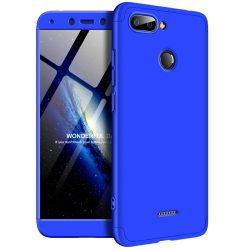 GKK 360 Protection telefon tok telefontok (hátlap) Első és hátsó az egész testet fedő Xiaomi redmi 6 kék
