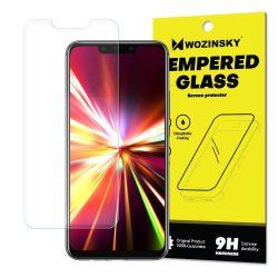 Wozinsky edzett üveg 9H képernyővédő fólia Huawei Mate 20 Lite (csomagolás - boríték) kijelzőfólia üvegfólia tempered glass