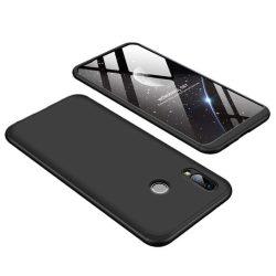 GKK 360 Protection telefon tok hátlap tok Első és hátsó tok telefon tok hátlap az egész testet fedő Huawei Honor Play fekete