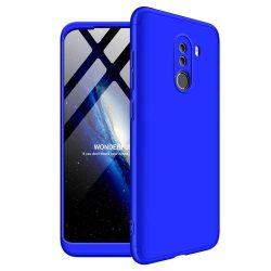 GKK 360 Protection telefon tok telefontok Első és hátsó az egész testet fedő Xiaomi Pocophone F1 kék
