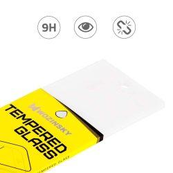 Wozinsky edzett üveg FullGlue Super Tough képernyővédő fólia Teljes Coveraged kerettel telefon tok telefontok-barát Samsung Galaxy A7 2018 A750 fekete kijelzőfólia üvegfólia tempered glass