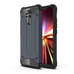 Hibrid Armor telefon tok hátlap tok Ütésálló Robusztus Cover Huawei Mate 20 Lite blue